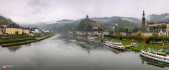 Panoramafotografie: Cochem in de vroege morgen