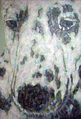 「expression」(4点組) 194×130㎝ キャンバス・アクリル 2013年