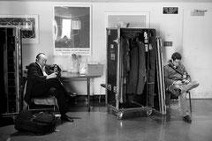 L'attente au vestiaire