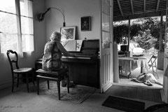 Geneviève effervescente pianiste