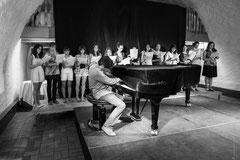 pianiste en sourdine!