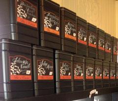 Etikett für Teedosen für Bio by Emma