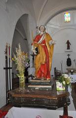 Calenzana - Chapelle Sainte Restitude - Statue de procession