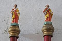 """Calenzana - Chapelle Sainte Restitude - Bâtons de procession """"e pacette"""""""