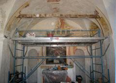 Travaux de restauration en 2008