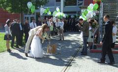 Marine Hochzeit Empfang