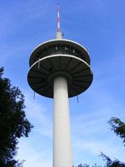 108 Meter hoher Fernmeldeturm der Deutschen Telekom AG