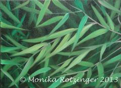 Bambusblätter © Monika Rotzinger 2013