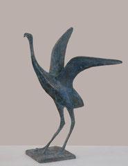 Pierre Yermia -Envol V, 37 x 33 26 cm-bronze