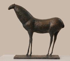 Pierre Yermia -cheval en bronze