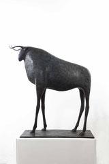 Pierre Yermia -taureau-Bronze
