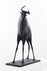 Pierre Yermia -Taureau IV,70 x 61 x 20 cm-Bronze