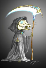Death of Rats - Fanart Terry Pratchett (2010)