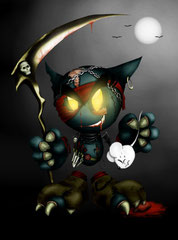 Horror Fella - Deviant Art Halloween - Contest Beitrag (2010)