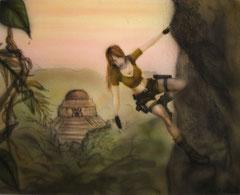 Tomb Raider - Airbrush ca. A4 (2009)