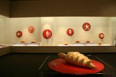 2008年 練馬区立美術館「セロテープ誕生60周年記念 瀬畑 亮 セロテープアート®展」会場風景