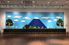2018年 FEI ART MUSEUM YOKOHAMA「瀬畑 亮  セロテープアート®展 2018 in 横浜」会場風景