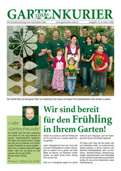 Kundenzeitung Gartenbau Eder