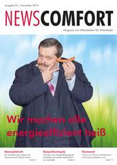 Mitarbeiterzeitung intern Energie Comfort