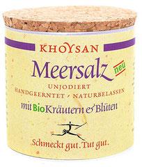 Khoysan Salz mit Bio-Kräutern & Blüten € 9,50
