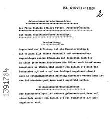 reichshoma-numerierschlägel - P.A. 676724-02