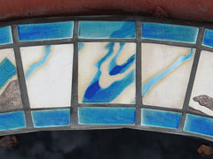 ceranic tiles by Ariella Anderson, Bagara Beach, QLD