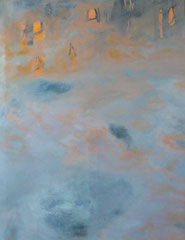 "Serie ""burn"",2017,  100cm x 130cm, Öl auf Leinwand"