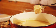 Urchiges Käsefondue