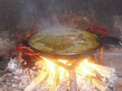 Paella en Barbacoa o Paellero