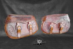 Sattel Taschen ebenfalls neu angefertigt