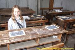 L'école dans le grenier