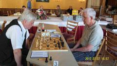 Halbfinale; Staub (Epp) - Prof.Dr.Osthof (Lahr Off.)