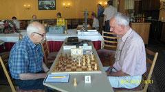 Halbfinale; Meyer (Lahr Off) - Striebich (Epp)