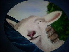 Wie ein Hirte sein Schaf  trägt. habe ich dich an meinem  Herzen getragen  vergeben  Jes.40,11
