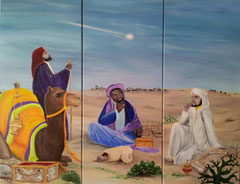 auf der Suche nach dem König der Könige  120 x 150 Weihnachten 2014