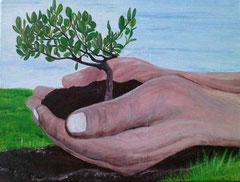 Geborgen in Gottes Hand vergeben