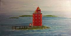 Leuchtturm  Kjeungskjaer fyr Hurtigroute  20 x 40  2014  vergeben