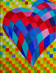 für Muetti ....Liebe in Farben ausgedrückt vergeben