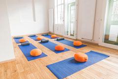 Das Stellwerk eignet sich auch ideal für Yoga-Kurse.