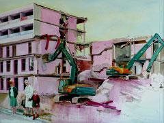 Aufbruch, 120 x 160 cm, Oil on canvas, 2008