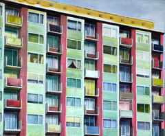 Fassade, 50 x 60 cm, Oil on canvas, 2006