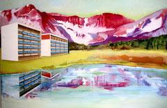 Wirtschaftswunder, 100 x 150 cm, Oil on canvas, 2003