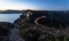 Un soir sur la Route des Crêtes - La Ciotat