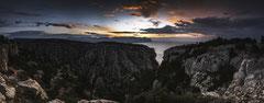 Panorama matinal sur En-Vau