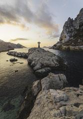 Lever de soleil au Cap Croisette