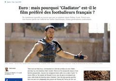 Interview pour FranceTvInfo pendant l'Euro 2016