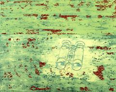 O.T., 1999, Öl auf Leinwand, 60 x 75 cm