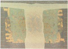 """""""Ruhelage V"""", 1997, Linolschnitt, 100 x 140 cm"""