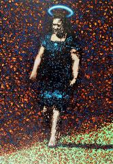 """Bote VII"", 2012, Öl auf Leinwand, 130 x 90 cm"