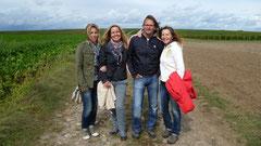 Weinwandern mit Peggy, Walter und Tanja